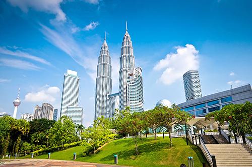 Tháp đôi Malaysia.