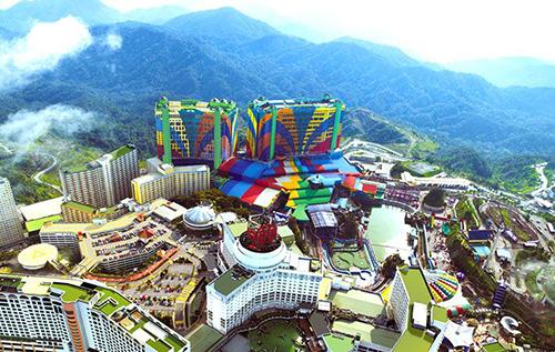 Tổ hợp khách sạn lớn nhất thế giới ở Malaysia.