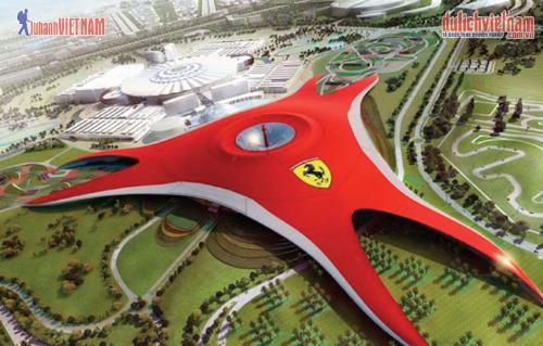 Công viên giải trí Ferrari World.