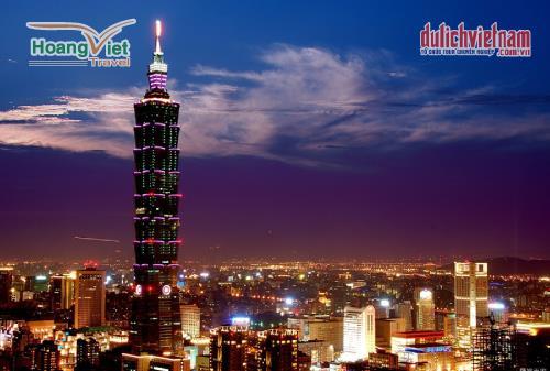 Tháp Đài Bắc 101 - là tòa nhà cao nhất Đài Loan.