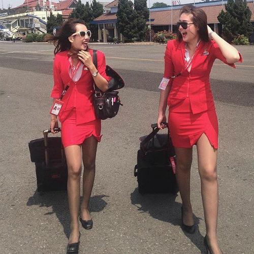 Đồng phục của một hãng hàng không tại Malaysia. Ảnh: