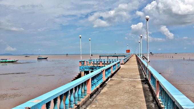 Một ngày ngắm cảnh, dạo biển ở Tiền Giang