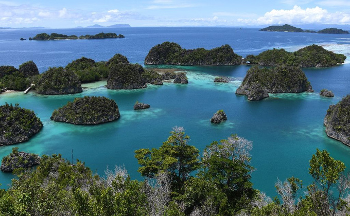 Các đường bờ biển cong mềm mại nổi tiếng thế giới