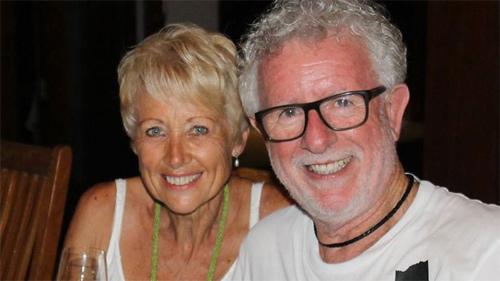 Vợ chồng ông Jones có những trải nghiệm đáng sợ ở Bali. Ảnh: 9news.