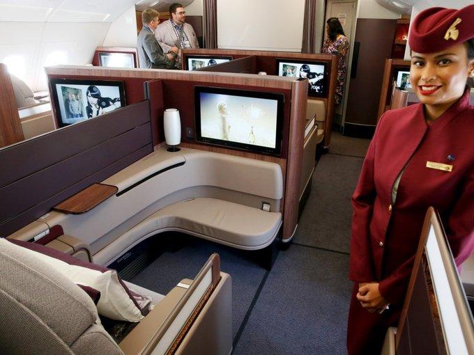 10 hãng bay có khoang hạng nhất xa xỉ thế giới