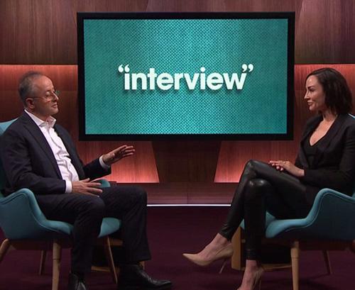 Amanda (phải) trong buổi phỏng vấn với kênh Channel Seven của Australia, thời điểm 9 năm sau khi được trả tự do. Ảnh: Channel7.