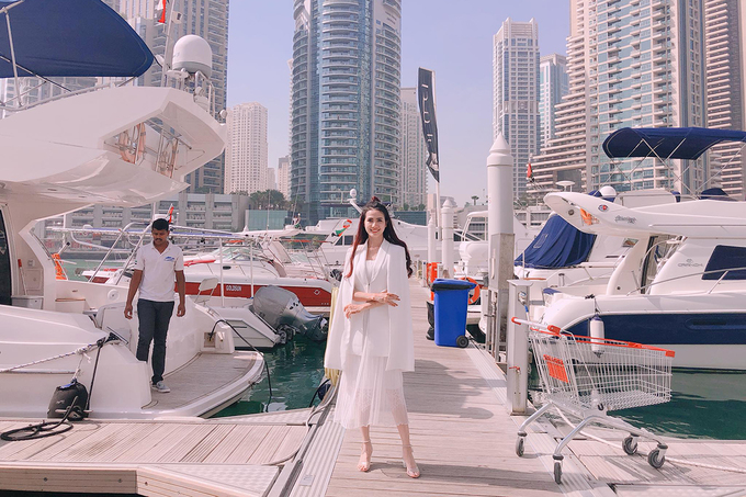 Các chuyến đi sang chảnh của Hoa hậu Đại sứ Du lịch thế giới