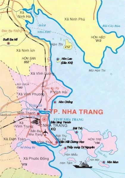 Chiến lược phát triển du lịch Khánh Hòa dài hạn.