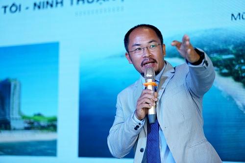 Ông Nguyễn Trường Sơn chia sẻ tại hội thảo.
