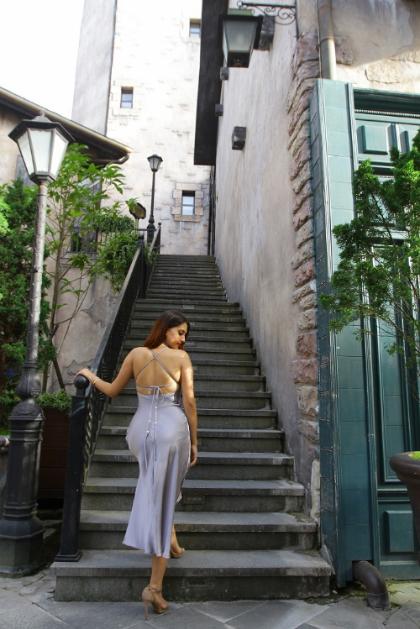 Dàn hoa hậu các nước check-in cầu Vàng Đà Nẵng - ảnh 8