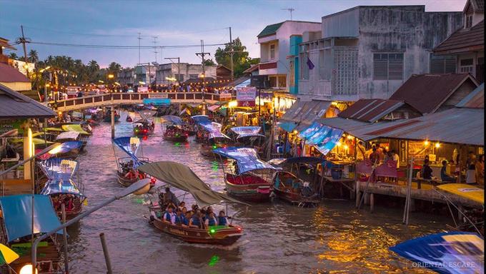 5 chợ nổi nhất định phải tham quan khi tới Thái Lan
