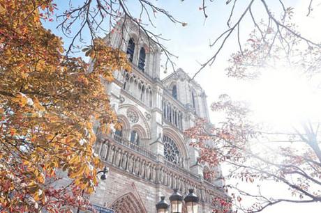 Paris thu hút nhiều du khách bởi vẻ đẹp lãng mạn, cổ kính. Ảnh: Pinterest.