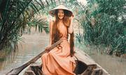 'Công chúa tóc mây' gốc Việt đưa bạn trai Tây về nước chơi