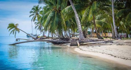 Guna Yala là quần đảo nằm ngoài khơi bờ biển Panama. Ảnh: BBC.