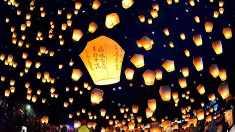 Ngôi làng gửi điều ước hàng đêm tới người chết ở Đài Loan