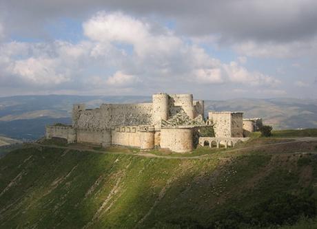Syria có 6 di sản thế giới được UNESCO công nhận. Trên ảnh là pháo đàiSaladin (Qalat Salah El-Din). Ảnh: Just fun facts.
