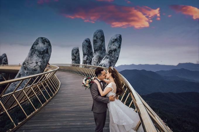 Loạt ảnh cưới như ở châu Âu giữa miền Trung