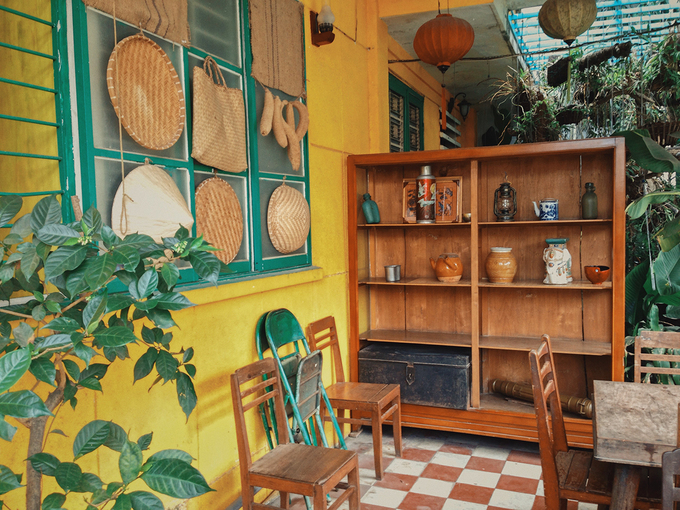 Quán cà phê như Hội An thu nhỏ giữa lòng Sài Gòn