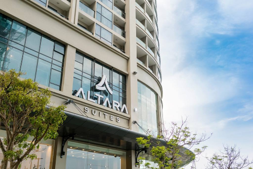Altara Suites với mô hình khách sạn căn hộ mới đi vào hoạt động nhưng rất được các gia đình ưu ái lựa chọn.
