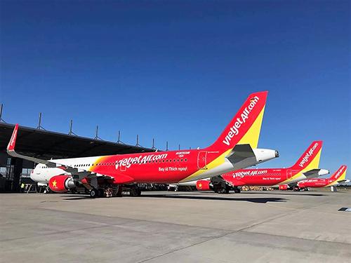 Các đường bay đến Nhật Bản sẽ được khai thác bằng đội tàu bay mới, hiện đại của Vietjet