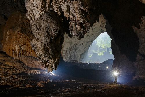 Hang Sơn Đoòng tạm đóng cửa 4 tháng để phục hồi và tránh mùa nước lũ. Ảnh:Ryan Deboodt.