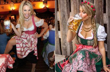 Người Đức phát ốm vì du khách mặc quá nóng bỏng tới Oktoberfest/Người Đức phát ốm vì du khách ngày càng hở bạo tới lễ hội Oktoberfest.