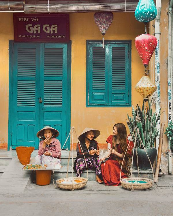'Công chúa tóc mây' đưa bạn trai phượt xuyên Việt