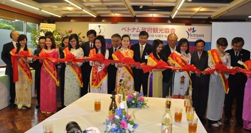 văn phòng đại diện của các doanh nghiệp lữ hành Việt Nam tại Tokyo.