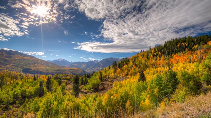 Những vùng đất lý tưởng để tận hưởng chuyến đi mùa thu