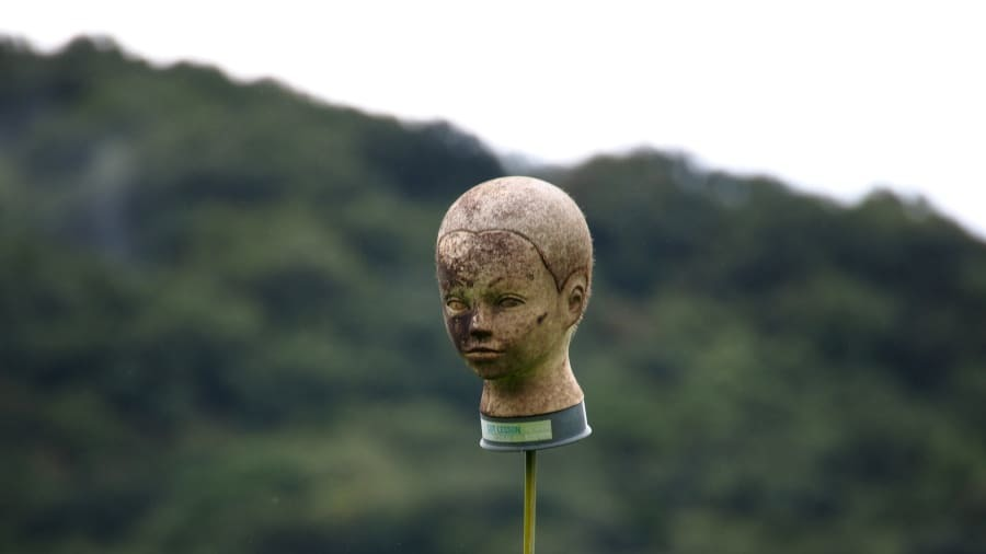 Mannequin dùng làm bù nhìn gây ám ảnh ở Nhật Bản