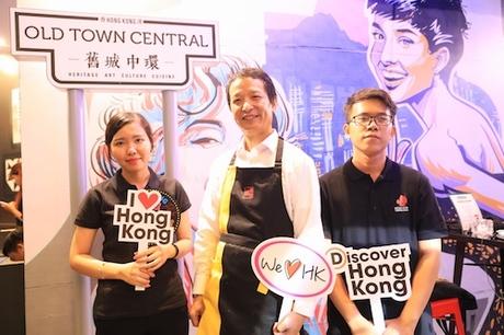Ông Jason Lam cho biết, ông rất vui khi có lời mời từ Hội đồng Du lịch Hong Kong  để mang những món ăn ngon miệng từ hải sản giới thiệu đến nhiều người Việt Nam.