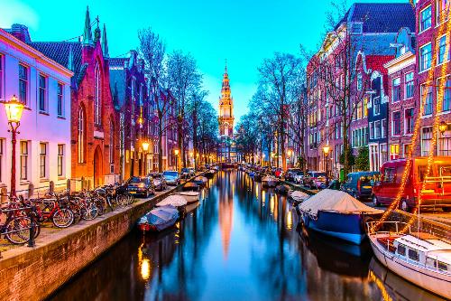 Thủ đô Amsterdam ngày nay. Ảnh:My Holiday Guru.