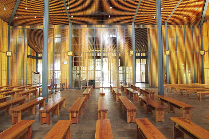 Nhà thờ khác lạ đạt 2 giải kiến trúc quốc tế ở Lâm Đồng