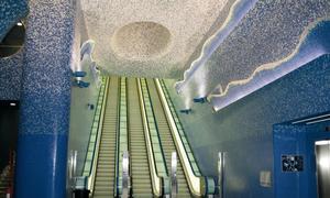 Ga tàu điện ngầm lộng lẫy nhất thế giới tại Italy