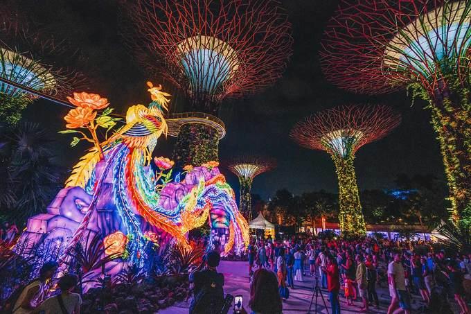 Không khí Trung thu rộn ràng tại các nước châu Á