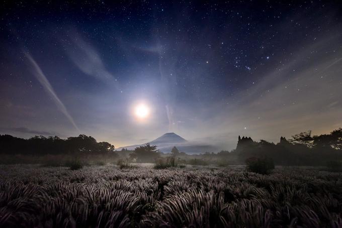 Bộ ảnh chụp núi Phú Sĩ trong 7 năm của nhiếp ảnh gia Nhật Bản