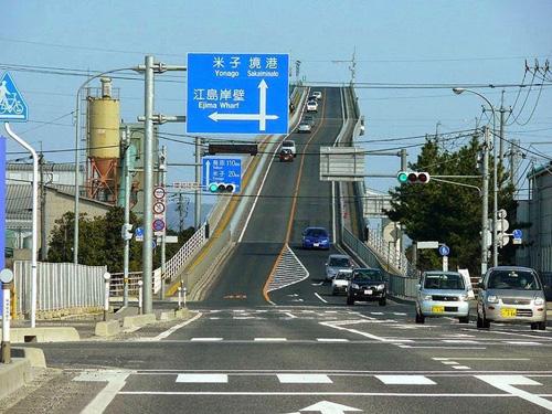 Cây cầu nhìn đã toát mồ hôi tay ở Nhật Bản - 4