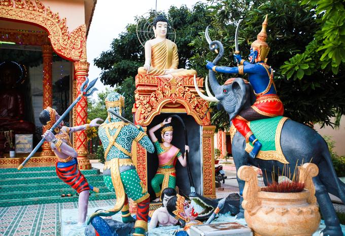 Ngôi chùa kiến trúc Angkor đẹp bậc nhất ở Bạc Liêu