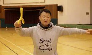 Màn phi boomerang 'bách phát bách trúng' trong video quảng bá Seoul