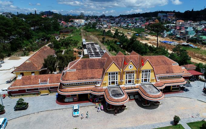 Nhà ga xe lửa cổ nhất Đông Dương ở Đà Lạt