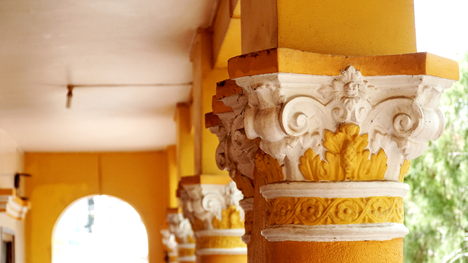 Ngôi chùa hơn 100 năm tuổi có kiến trúc Ấn Độ ở An Giang