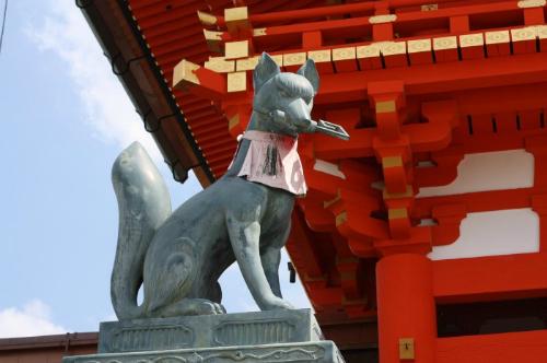 Thần Inari tượng trưng cho sự thịnh vượng và thành công. Ảnh: Jpninfo.