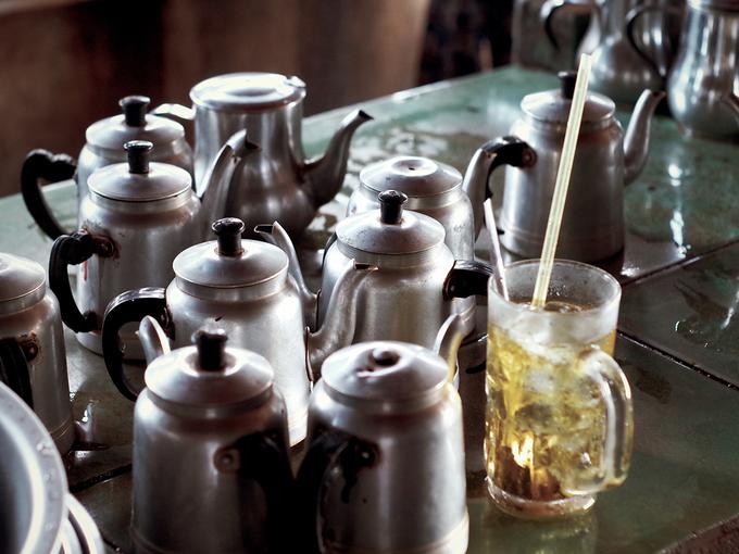 Quán cà phê vợt hơn nửa thế kỷ ở An Giang
