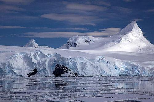 Không khí lạnh lẽo ở Nam Cực. Ảnh: Smithsonian Magazine.
