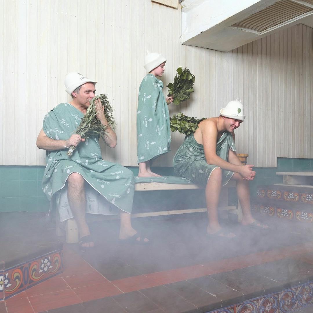Khám phá văn hoá tắm bằng chổi ở Nga