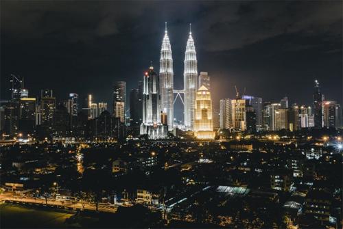Tháp đôi Twin Petronas - Malaysia