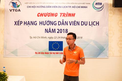 TP HCM là nơi thí điểm đầu tiên trong chương trình xếp hạng HDV du lịch Việt Nam.