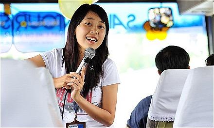 Từ nhiều năm nay, những doanh nghiệp lớn cũng đã phân loại HDV để trả lương. Ảnh: Saigontourist.