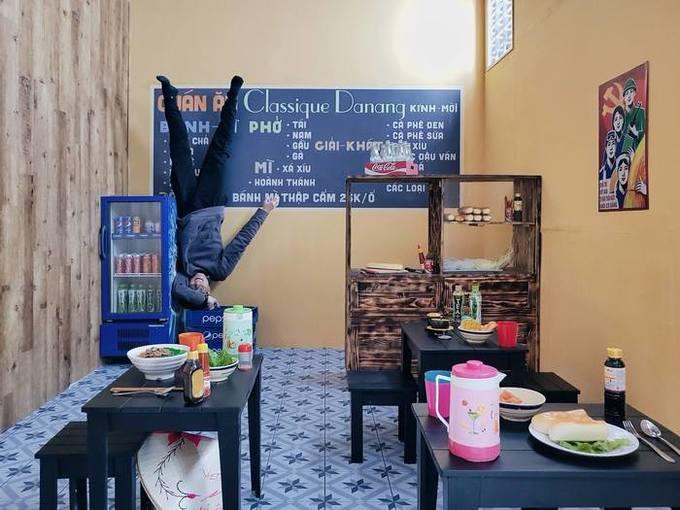 Ngôi nhà lộn ngược đầu tiên và duy nhất ở Đà Nẵng