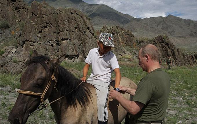 Sở thích của Tổng thống Putin mỗi khi đi du lịch